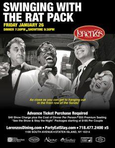 Swinging with the Rat Pack! @ Lorenzo's